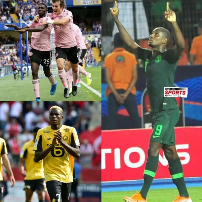 Ighalo, Ndidi, Osimhen, Oshoala,  Rohr  Nominated For 2019 CAF Awards