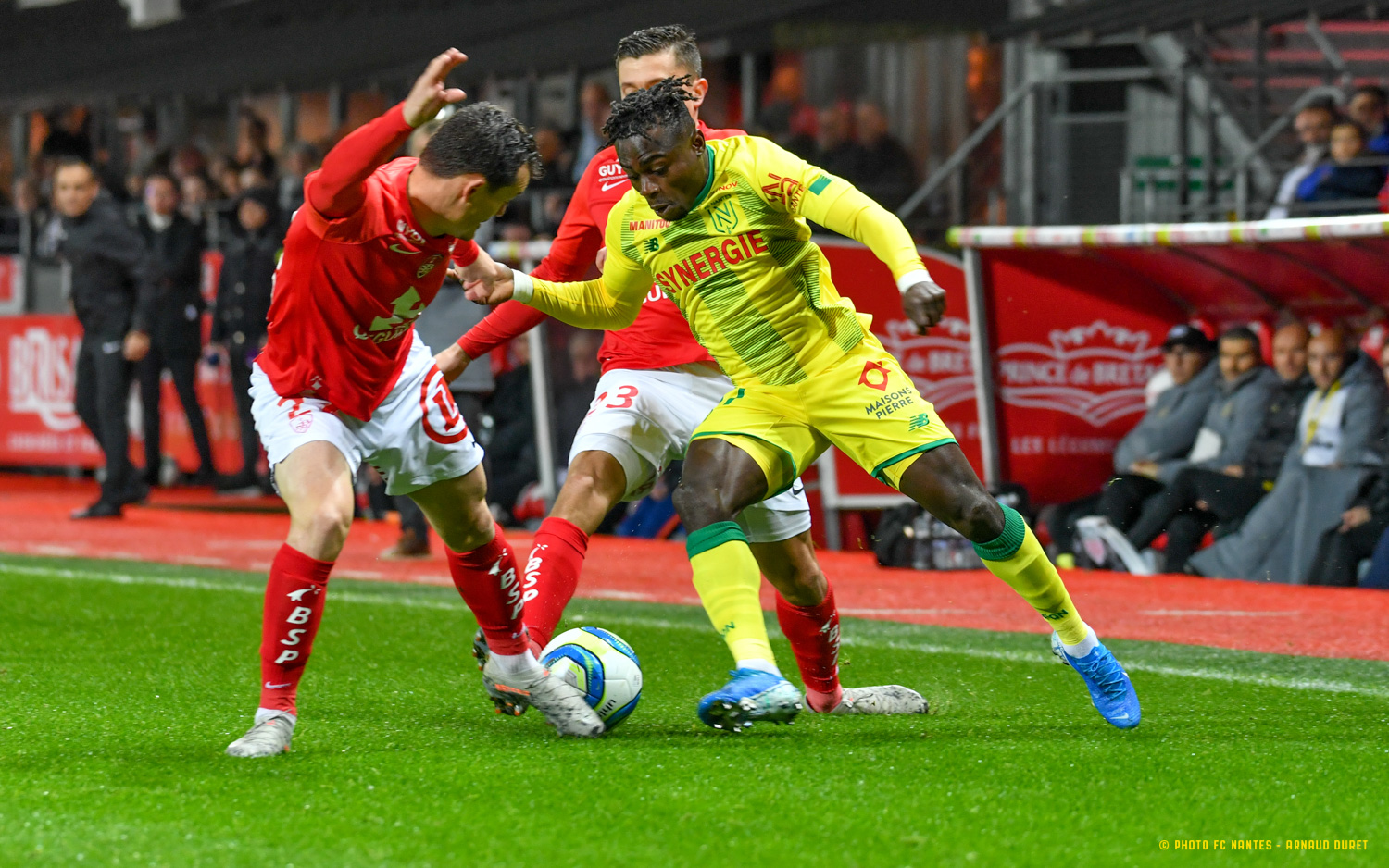 Simon Voted Man Of The Match In Nantes Draw At Brest