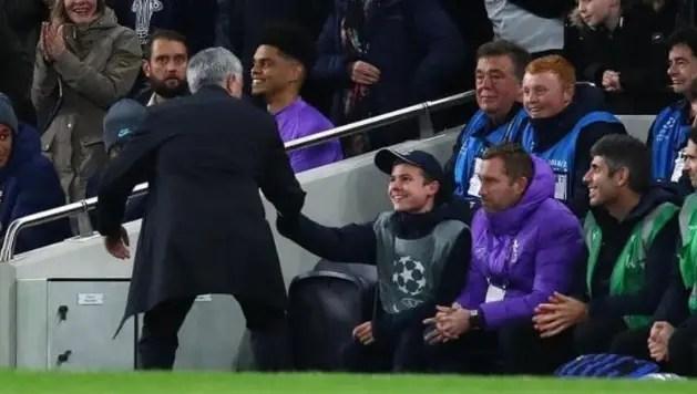 Mourinho Praises 'Very Good' Ball Boy After Tottenham Win Vs Olympiacos