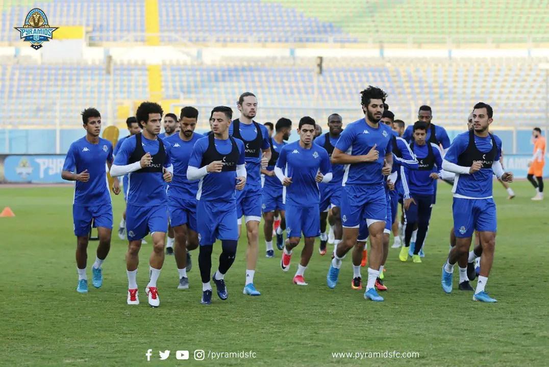 CAFCC: Pyramids  Coach Desabre Names 23-Man Squad For Rangers Clash