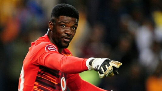 Akpeyi Retains Kaizer Chiefs Spot Despite Khune's Return From Injury