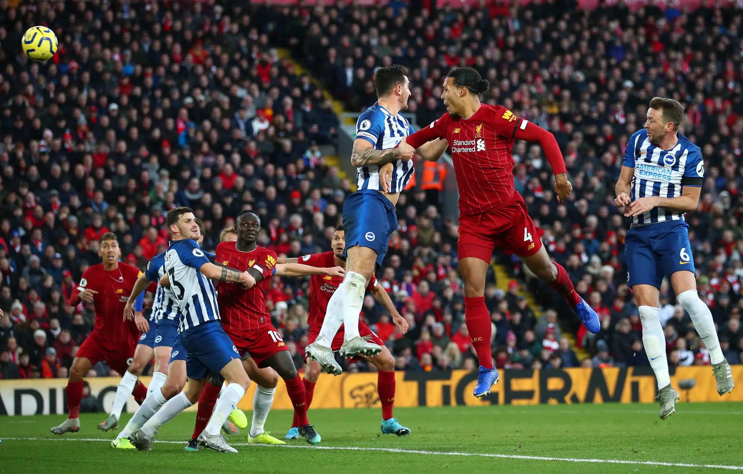 EPL: Liverpool Pip Brighton; Go 11 Clear, West Ham Stun Chelsea