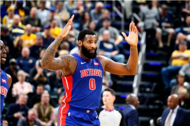 Pistons And Andre Drummond Will Host Hornets At Little Caesars Arena