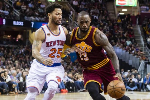 Don't Miss Derrick Rose Facing Cavaliers At Quicken Loans Arena