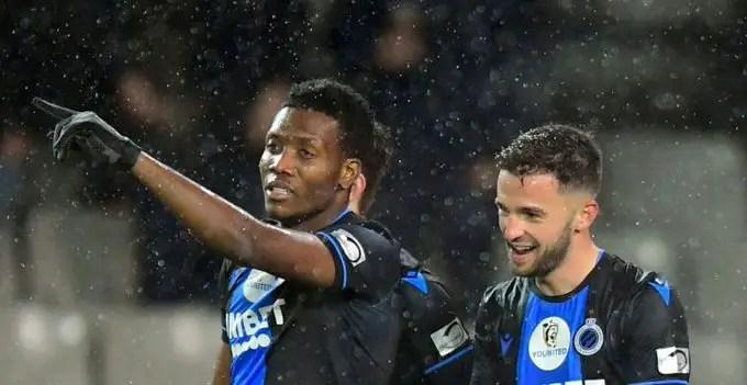 Club Brugge Manager Clement  Hails Okereke's  Impact In Home Win Vs Zulte – Waregem