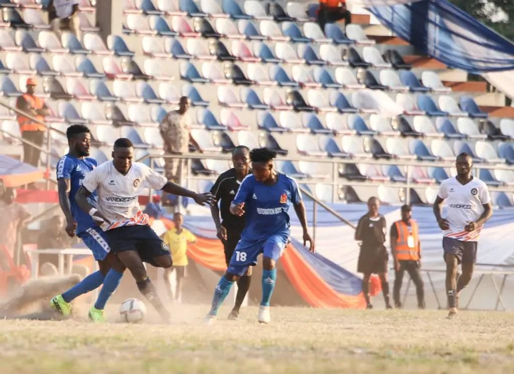 NNL: Vandrezzer FC Mark Historic Game With 2-1 Win Over Bayelsa United