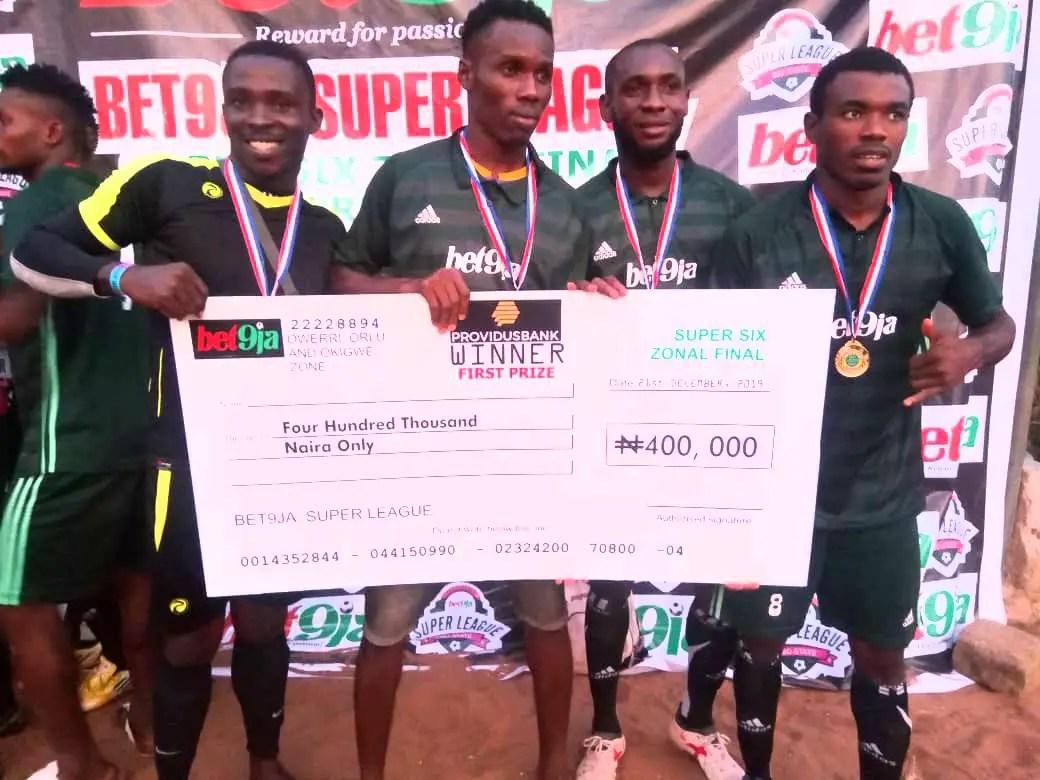 Amanda FC Emerge Champions of Bet9ja Football Tournament