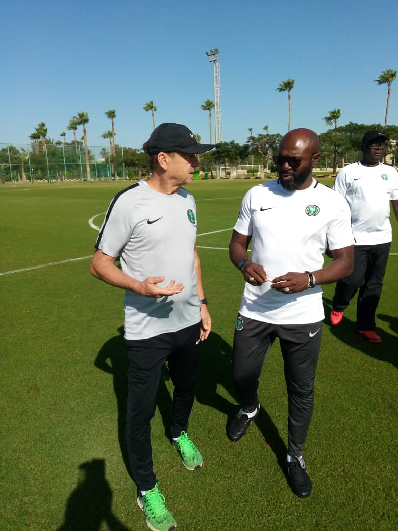 Rohr Laments Goalkeeping Issue In Super Eagles