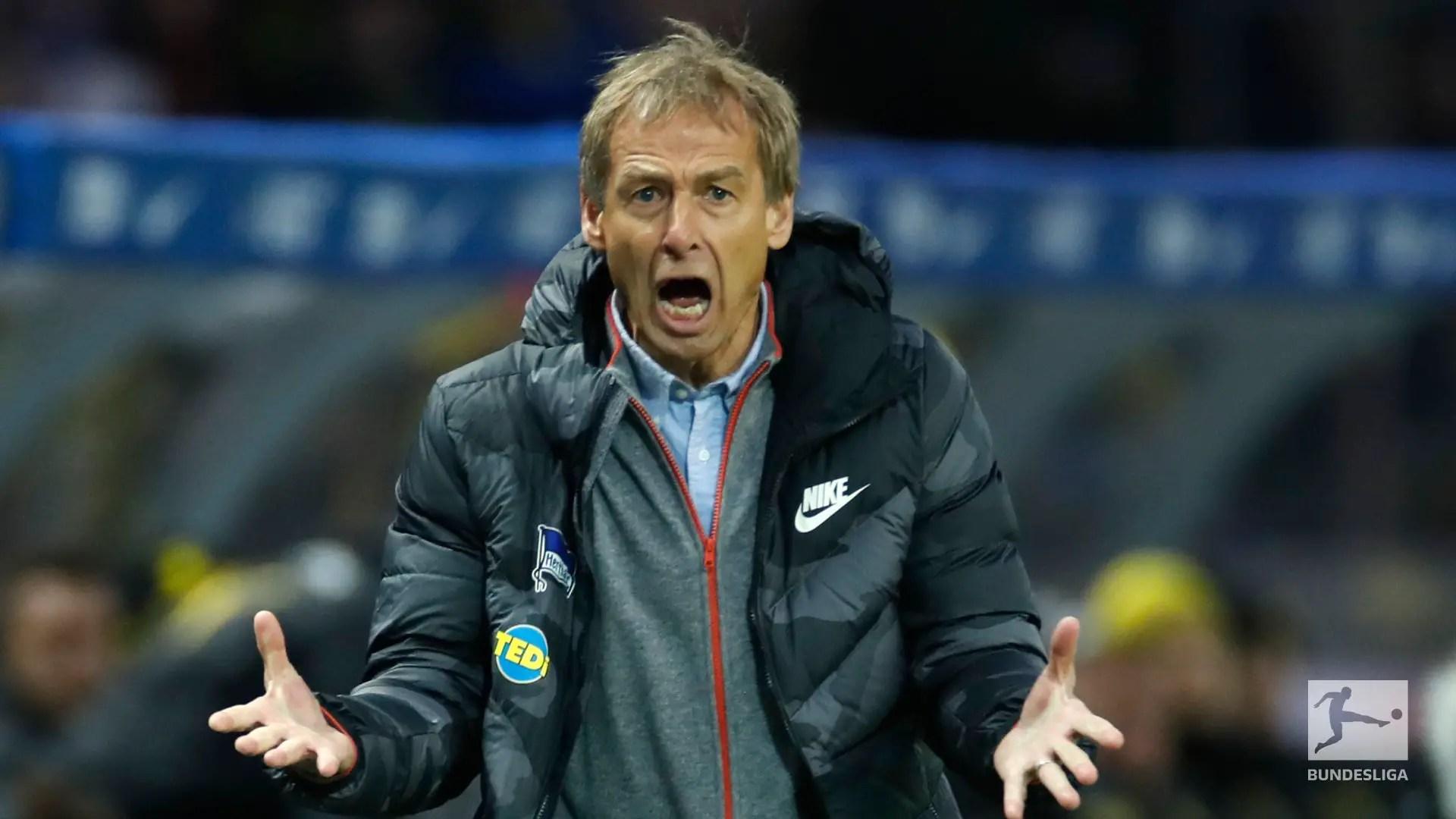 Klinsmann: It Feels Wonderful Being Back in Wonderful Bundesliga