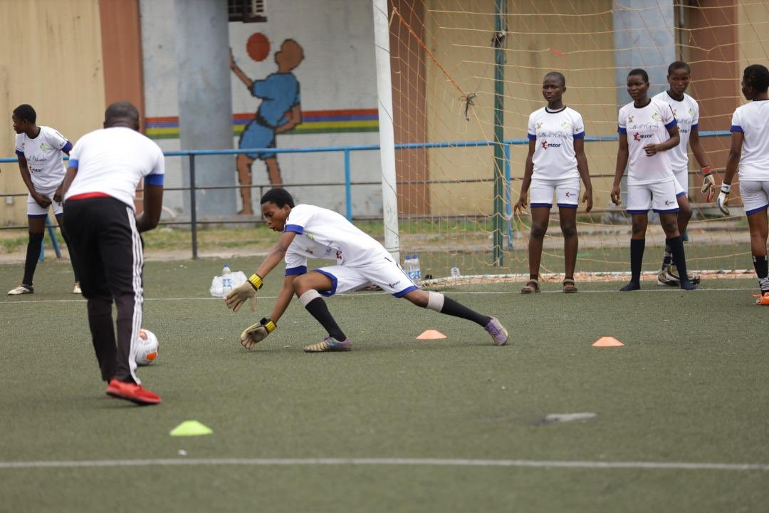 Over 200 Girls Begin Training At Oshoala Footballforgirls  Camp