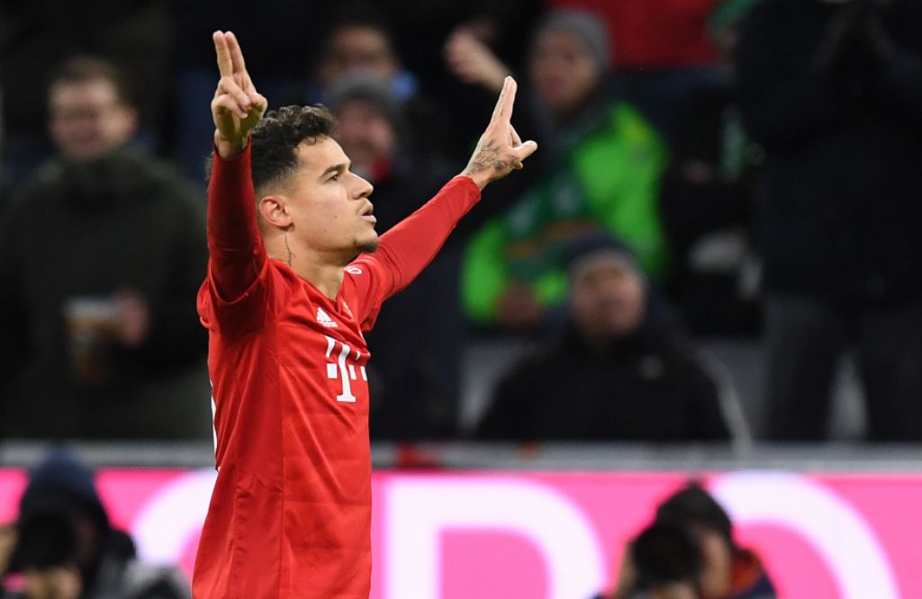 Coutinho is Talk of Bundesliga After Classic Showing in Bayern 6-1 Win  vs Bremen