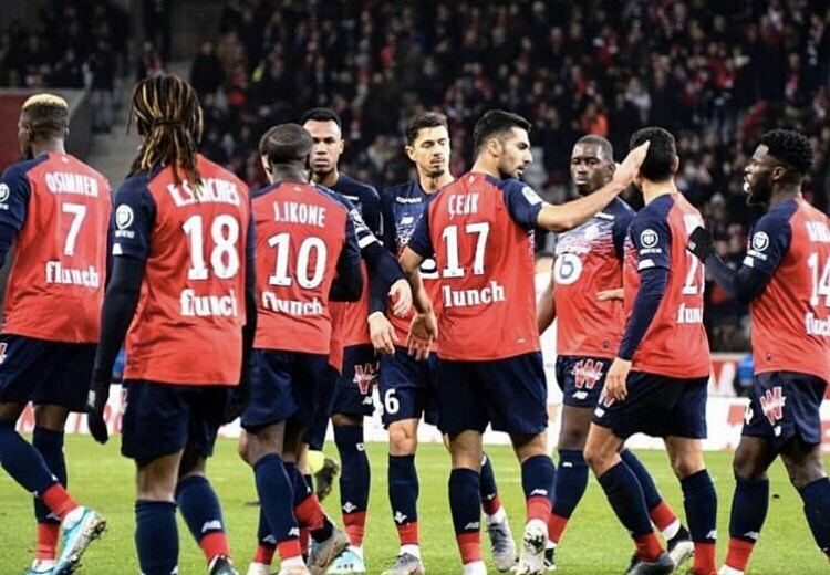 Galtier: No Rift Between Osimhen And Lille Teammate Ikone