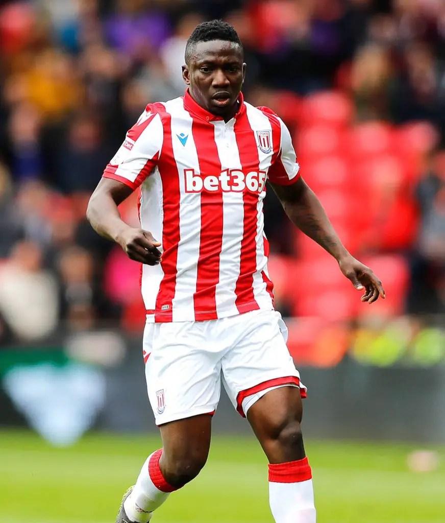 Etebo Set For Stoke City Return vs Sheffield Wednesday After Ill-health