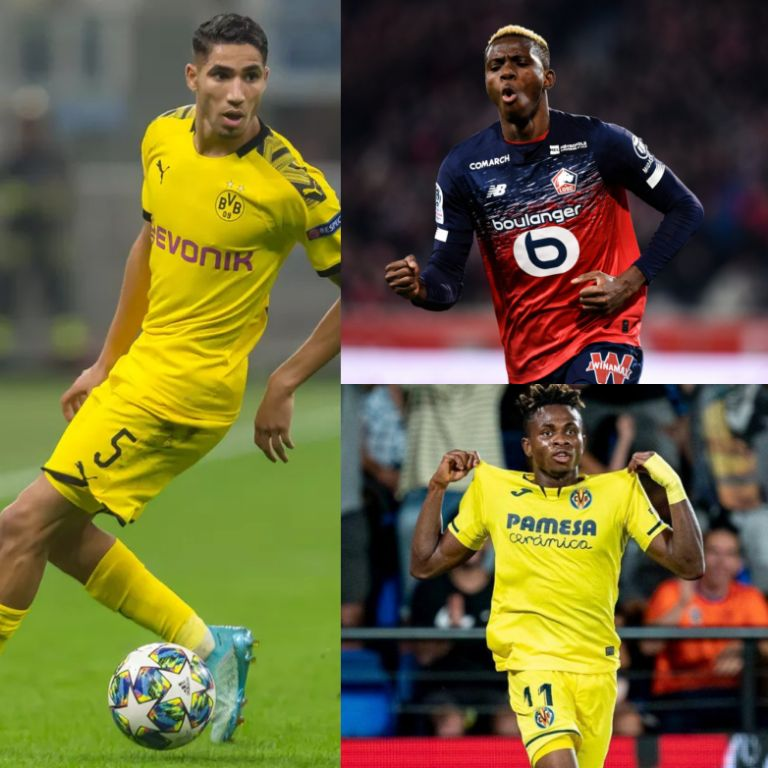 2019 African Youth Player of the Year Award: Hakimi Threatens Osimhen, Chukwueze's Chances
