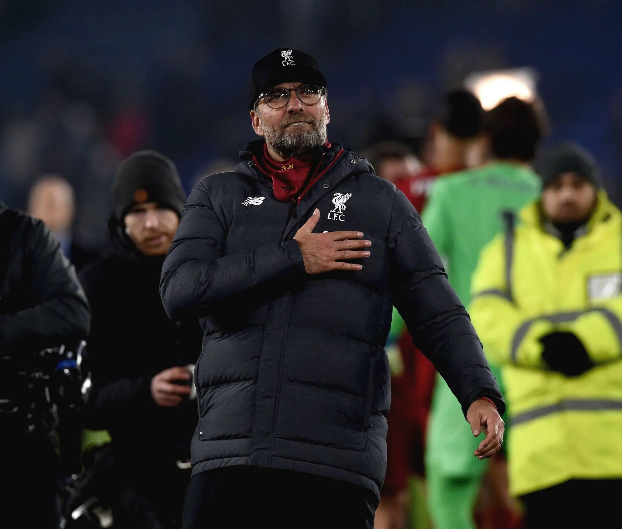 Klopp: Liverpool Still Digging, Not Celebrating EPL Title Now