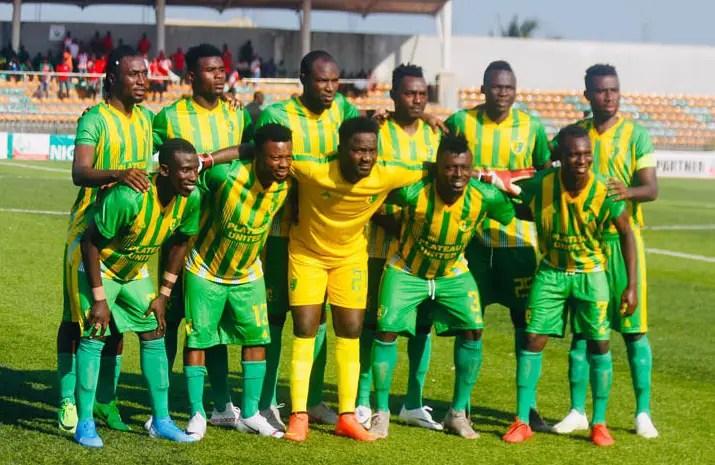 Plateau United Players Still Expecting N80m Reward As 2016/17 NPFL Champions