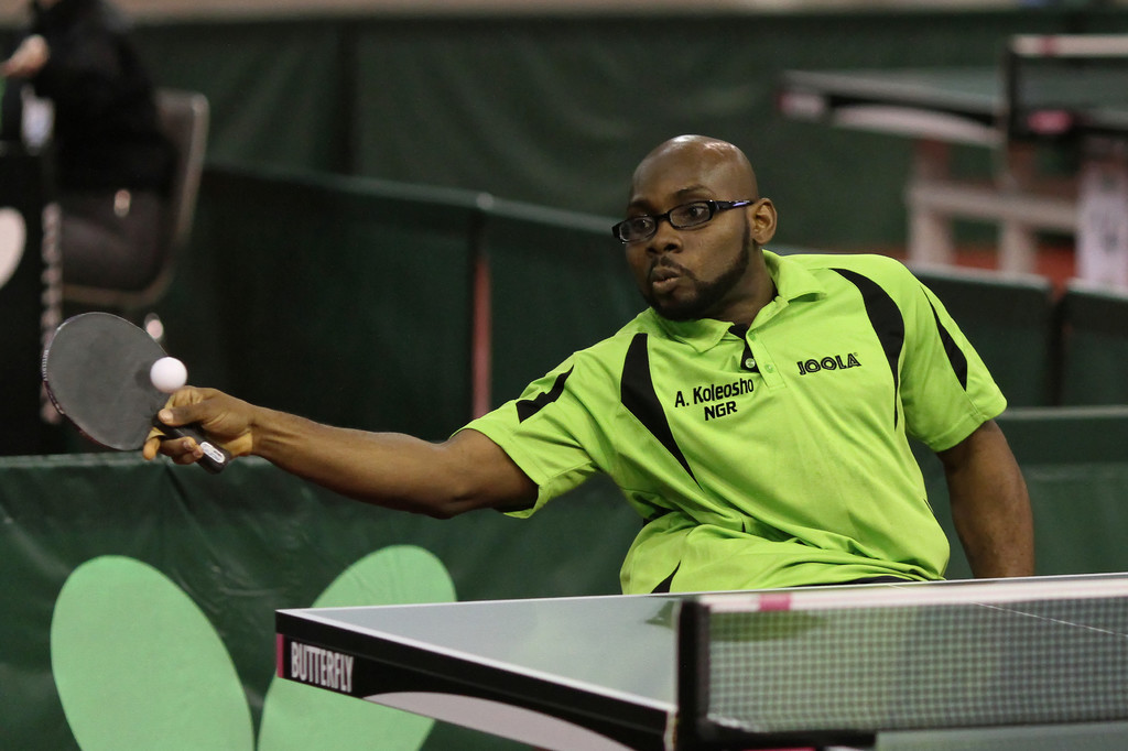 Nigerian Players Set for ValueJet Para Table Tennis Open