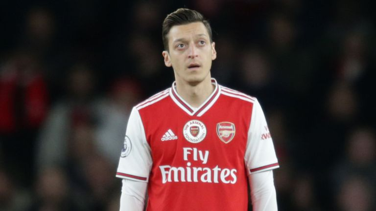 Ozil Removed From Video Game In China Over Criticism