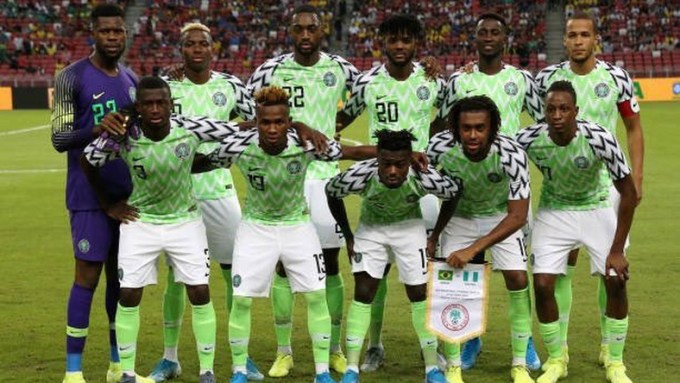 Super eagles static globally and