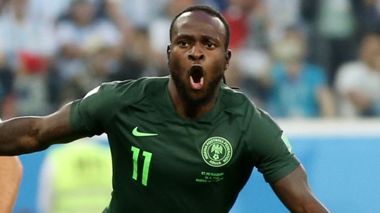 NFF, UEFA, Chelsea Celebrate Ex-Eagles Star Moses At 29