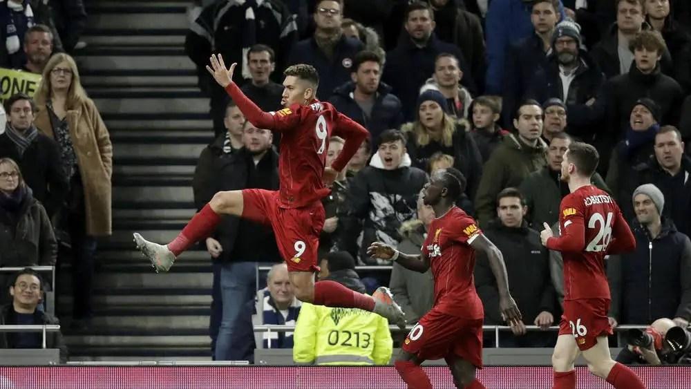EPL: Liverpool Pip Tottenham 1-0;  Set New European Points Record