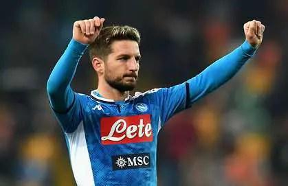 Chelsea In Talks With Napoli For Mertens