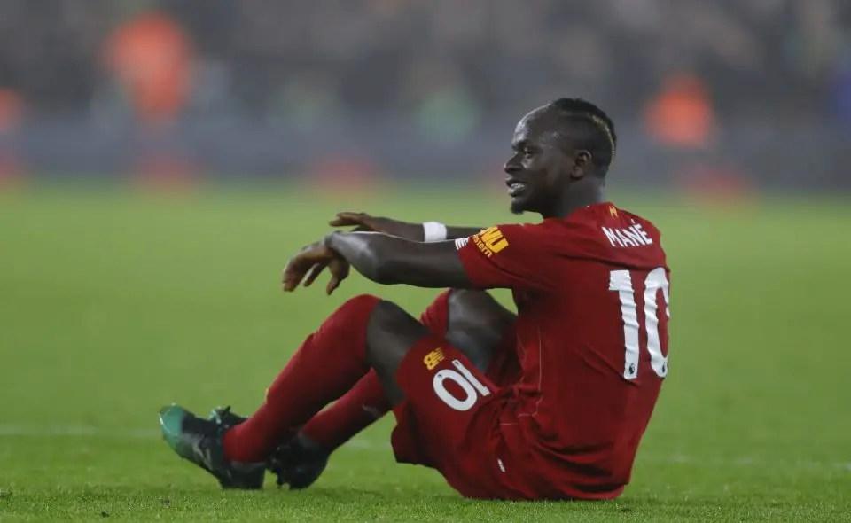 Mane: Liverpool's Premier League Title Hopes Over