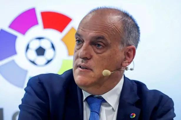 LaLiga President Hails UEFA Over Man City Ban