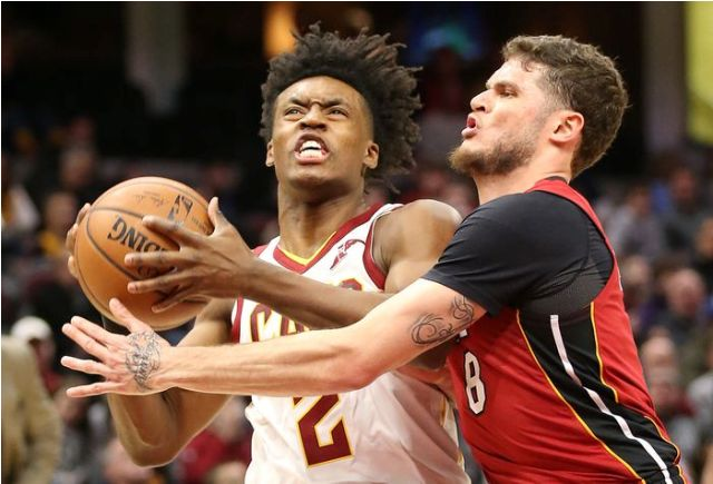 Cavaliers And Collin Sexton To Host Heat At Quicken Loans Arena