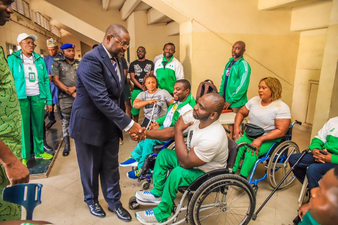 Sports Minister Dare Tips Nigeria to Conquer at Para-Powerlifting  World Cup