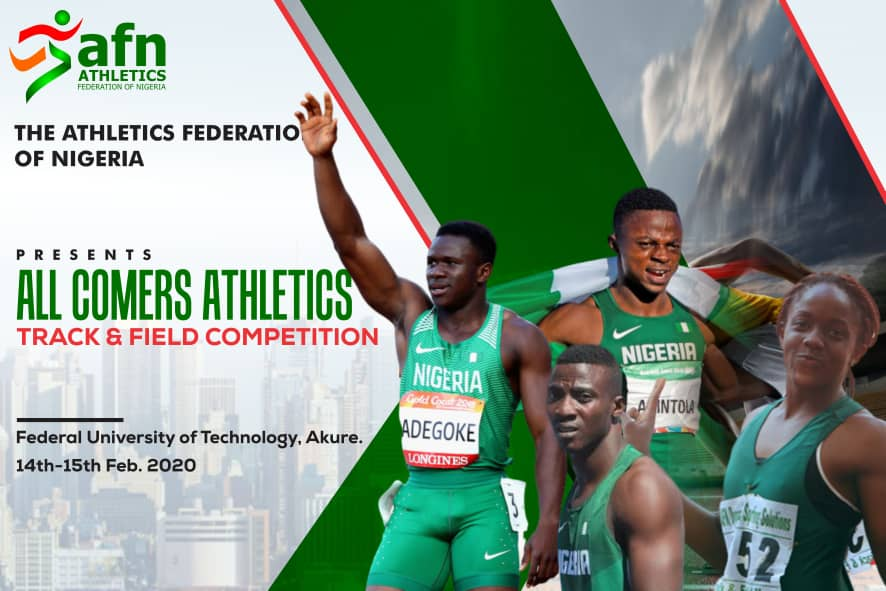 AFN: All is Set For All-Comers Competition in Akure