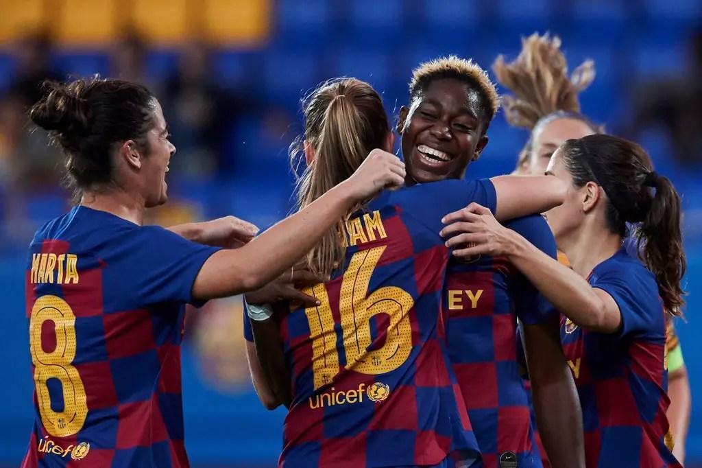 Olympic Lyon Fail In Bid To Sign Oshoala From Barcelona Ladies