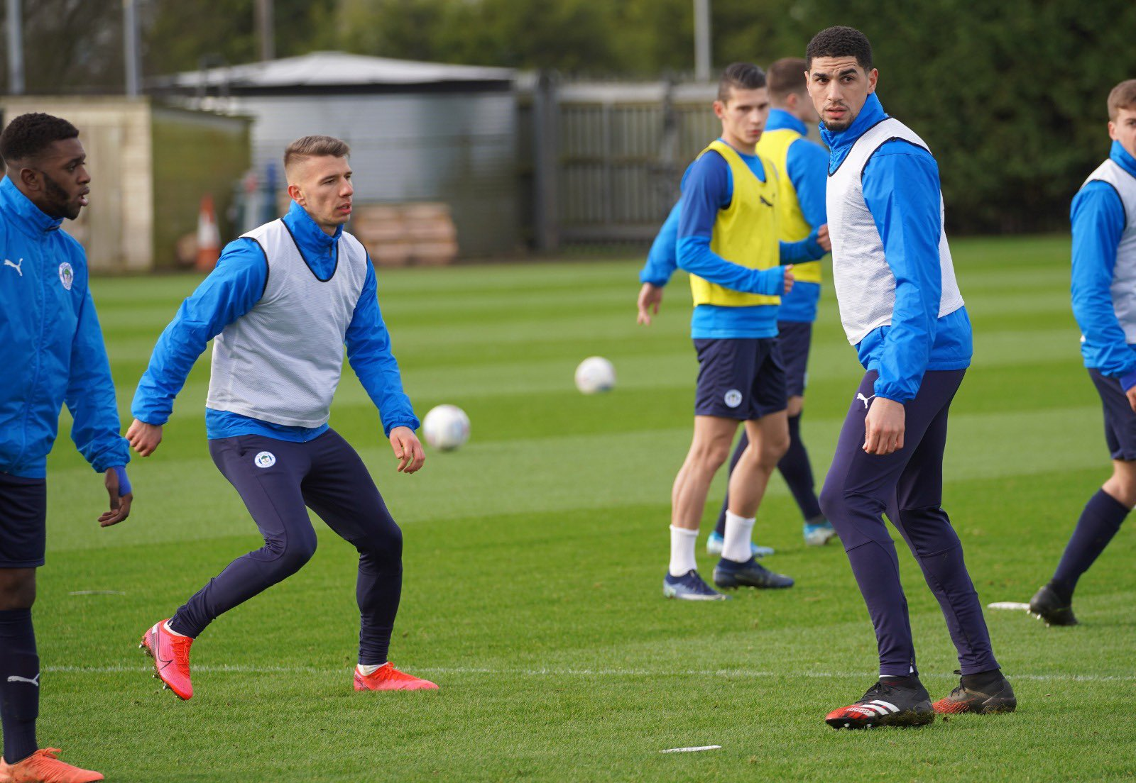 Balogun Starts Career Revival, Trains First Time At Wigan Athletic