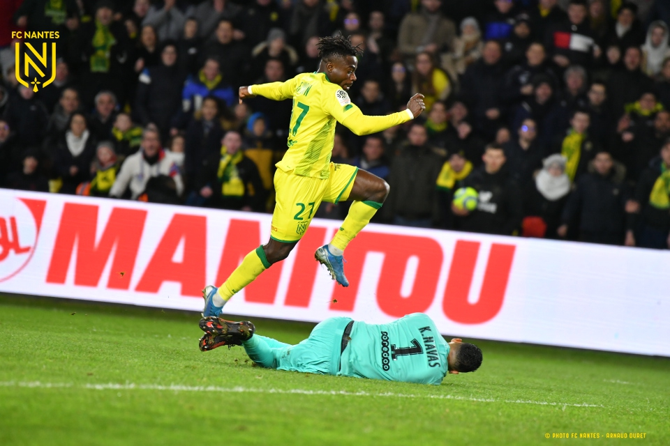 Simon Voted Nantes MOTM vs PSG