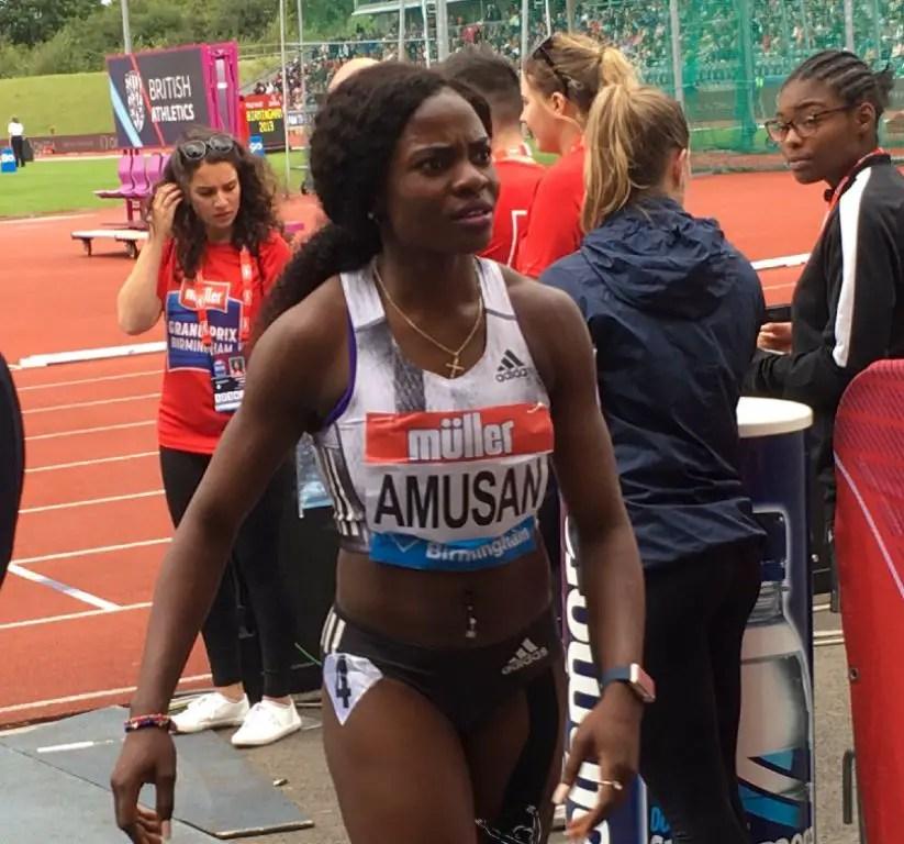 Amusan Third In Dusseldorf 60m Hurdles; Enekwechi Fourth in Shot Put