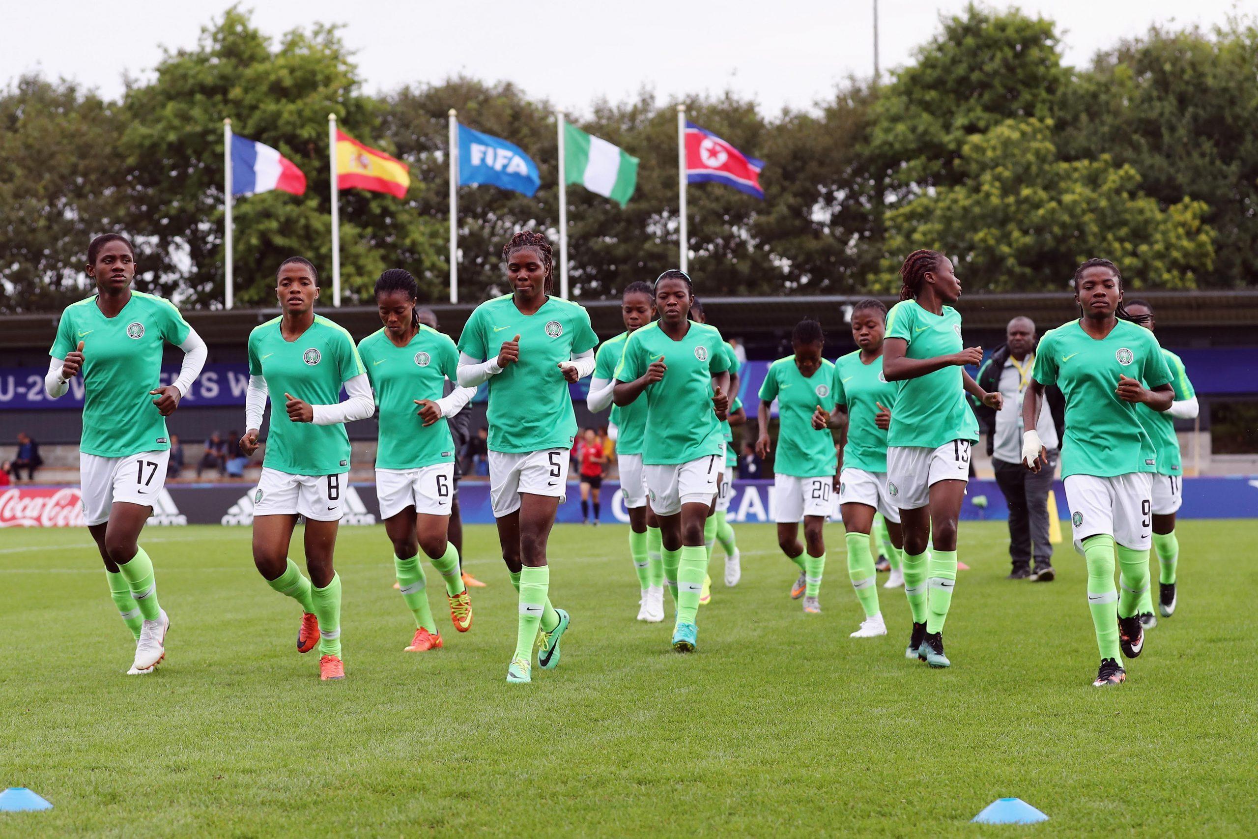 U-17 Women's AFCON Qualifier: Flamingos to Play Guinea in Lagos