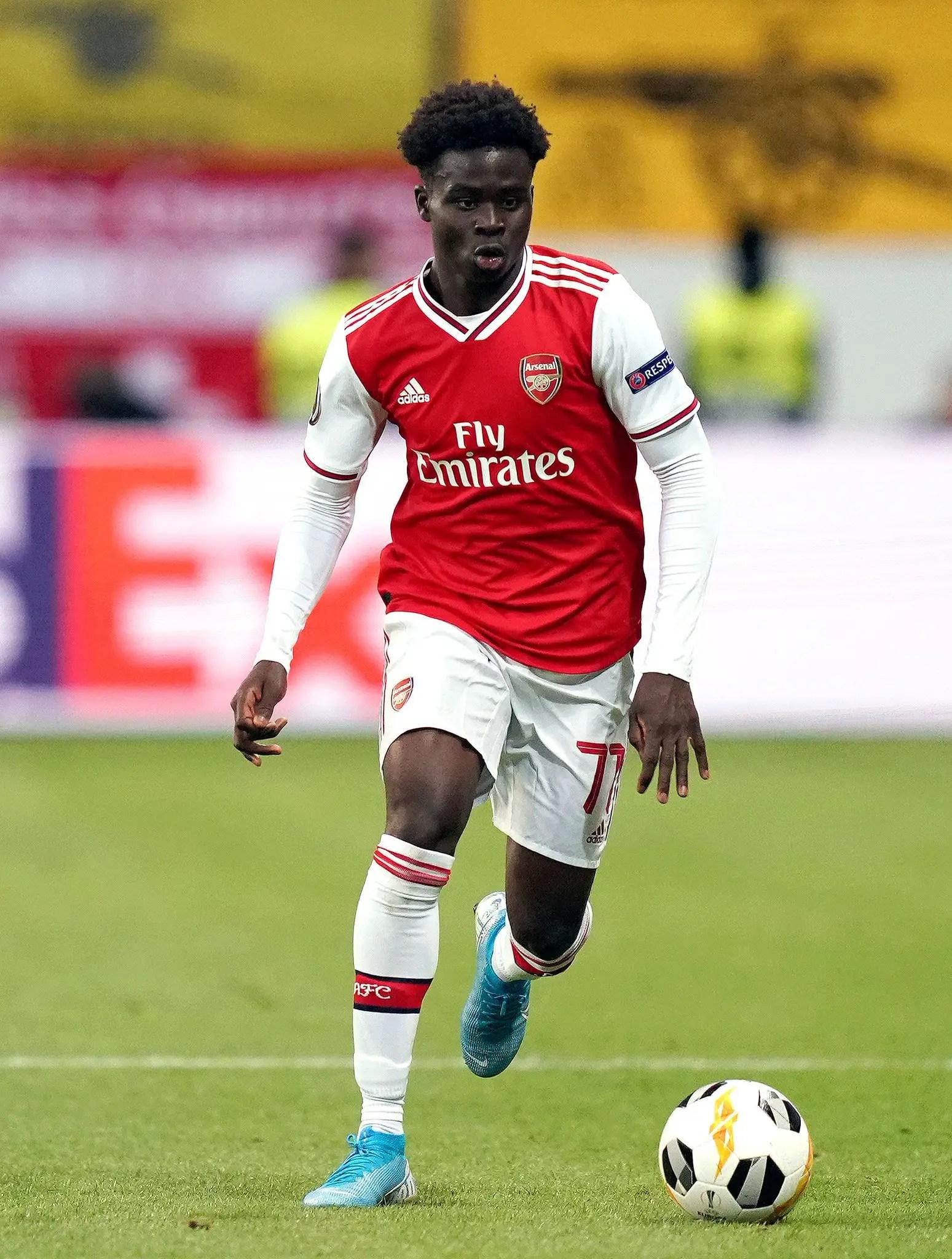 Saka Nominated For Arsenal's February Player Award