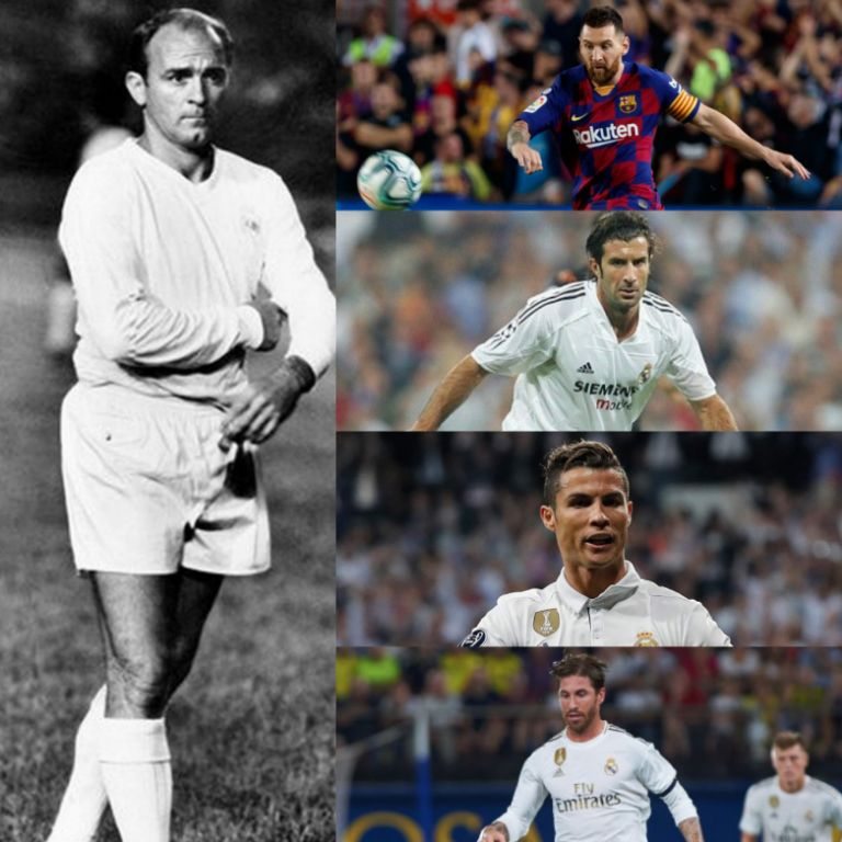 5 All-time Stars For the Ages in Laliga  El Clasico History