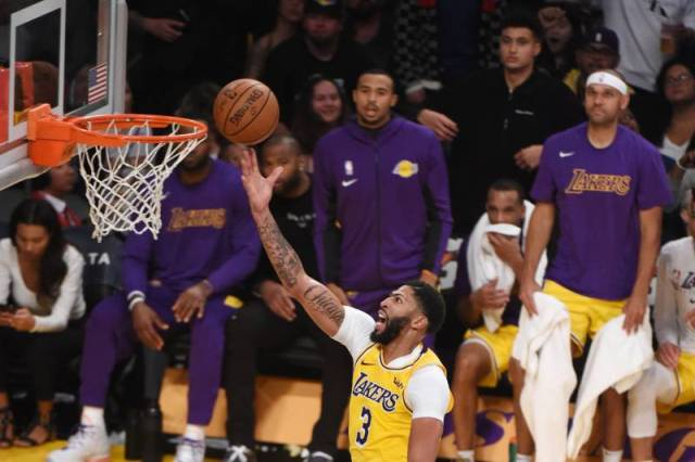 Lakers And Anthony Davis To Host Grizzlies At STAPLES Center