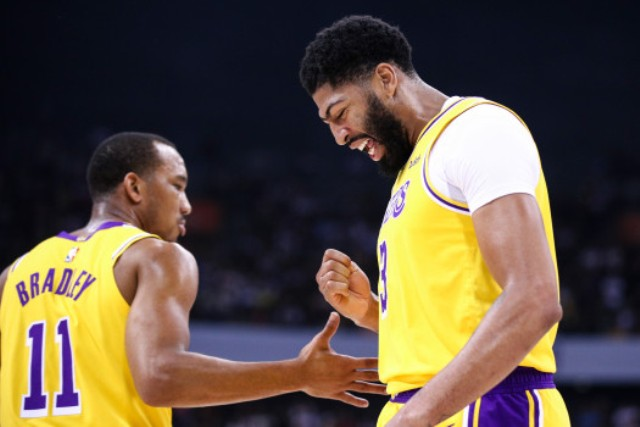 Lakers And Anthony Davis Will Host Rockets At STAPLES Center