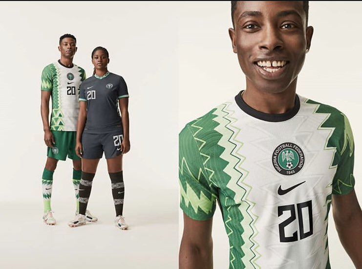 Nike Unveils New Nigeria National Teams Jerseys