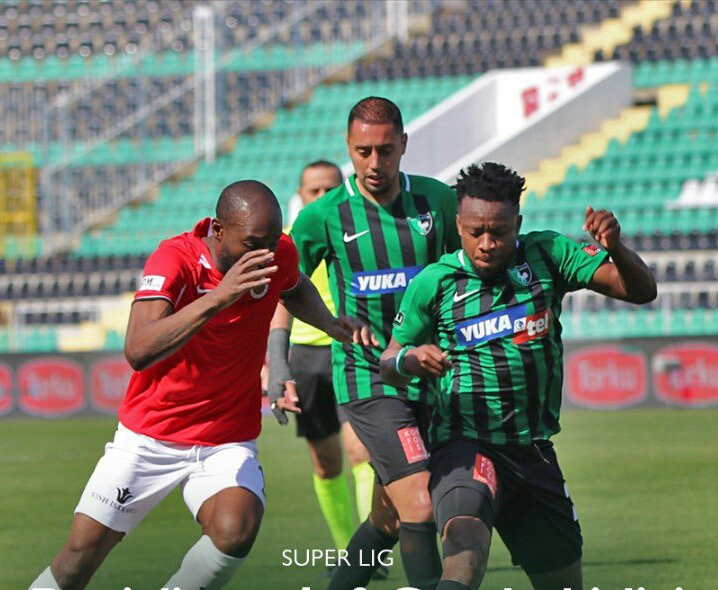 Turkish Super Lig: Onazi laments absence of Denizlispor Fans In Home Win Vs Genclerbirligi