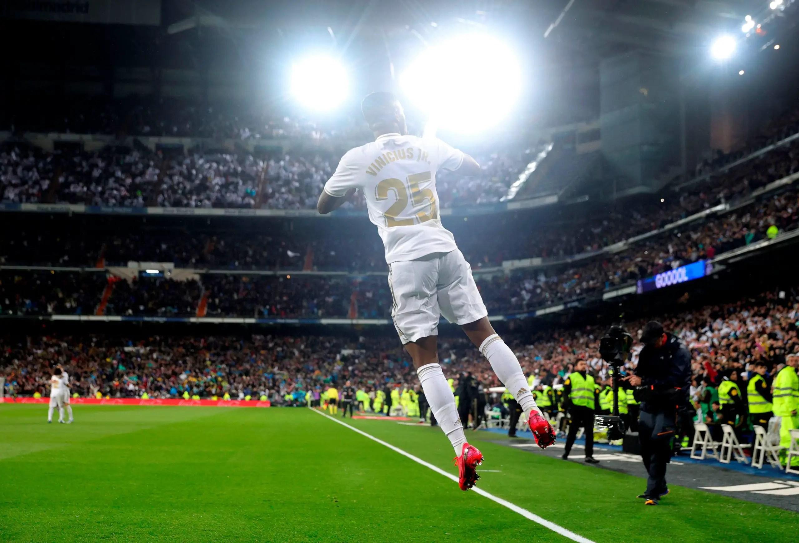 Vinicius: Why I Celebrated My El Clasico Goal Against Barcelona Like Ronaldo