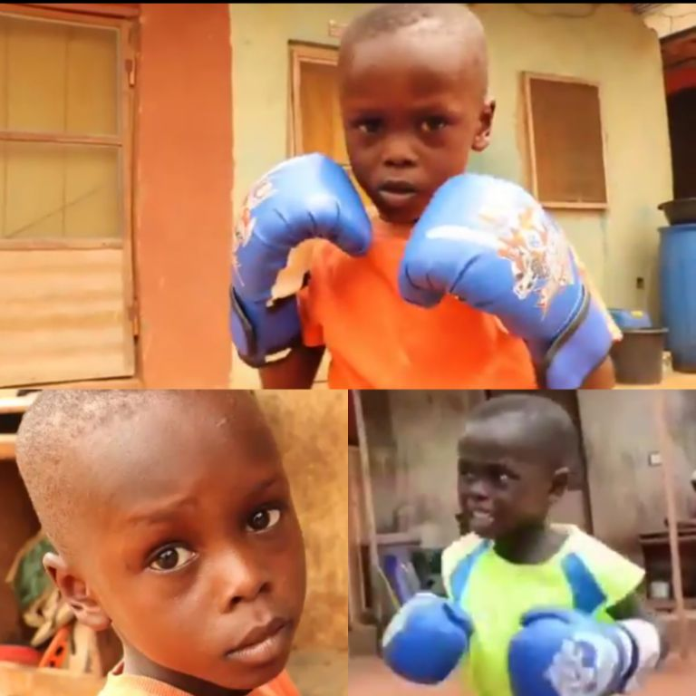 Dare Offers Scholarship To Five-Year Old Boxing Sensation Ayomide Adeyemo