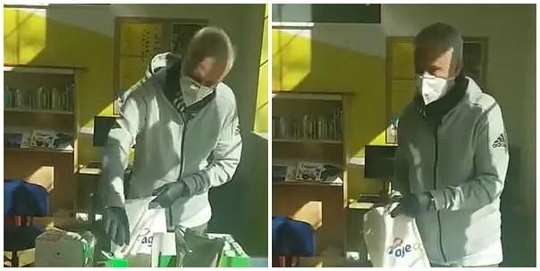 Mourinho Delivers Supplies To Elderly People  Amid Coronavirus Crisis