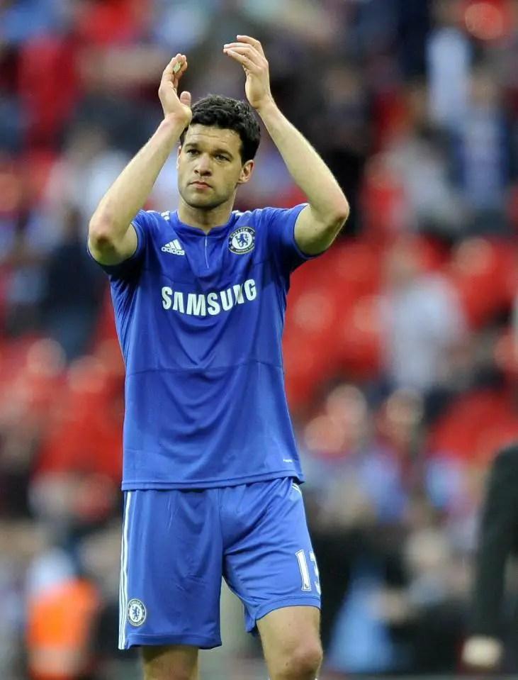Ballack Reveals Regret Quitting Chelsea