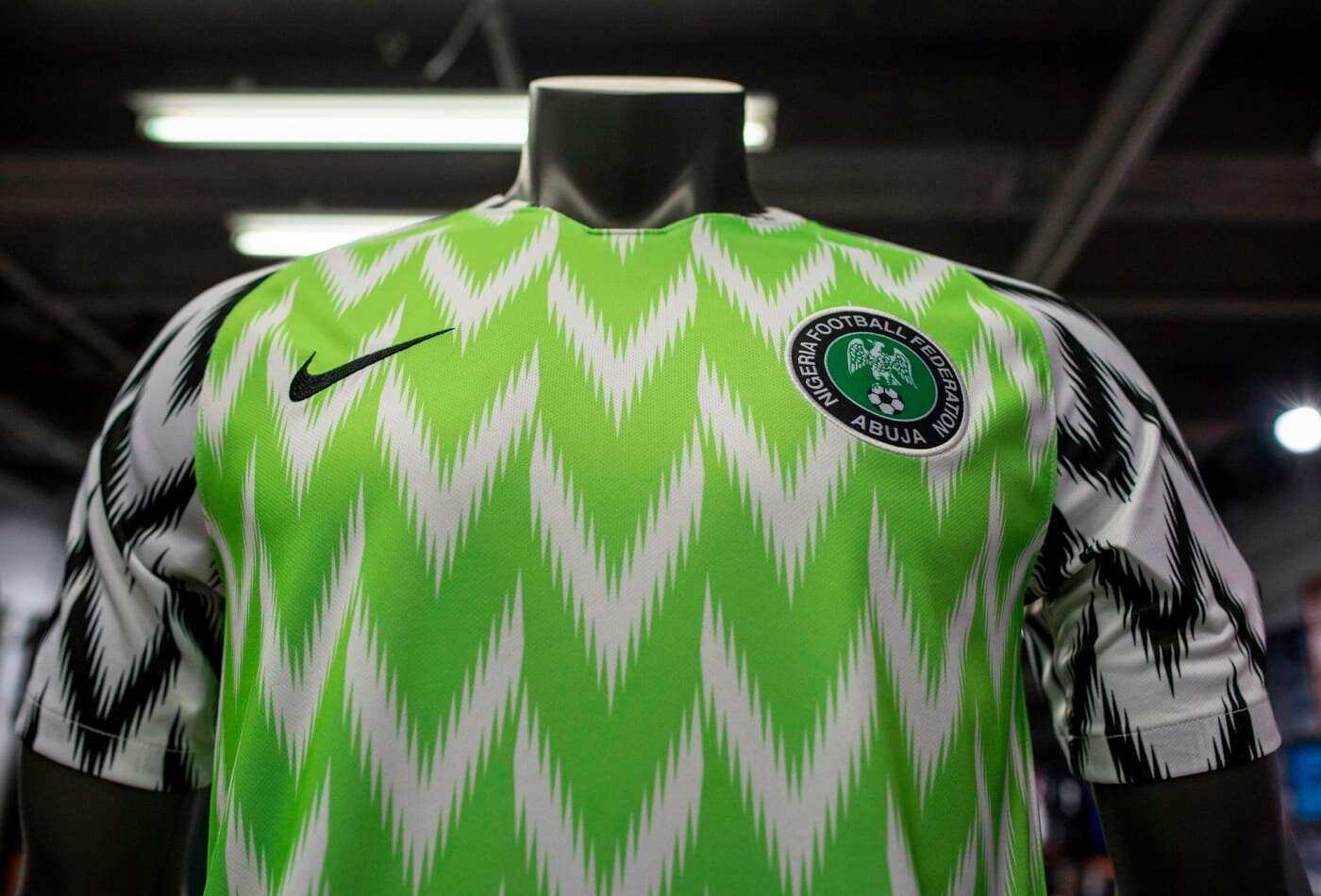 Super Eagles' 2018 Home Attire Voted 5th Best All-Time Iconic Football Shirt