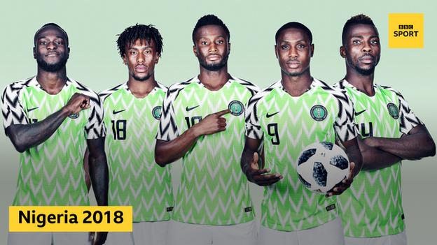 Super Eagles' 2018 Attire Nominated Among  World All-Time Iconic Football Shirts