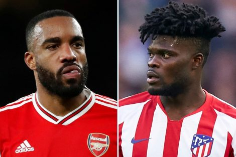 Arsenal To Offer Lacazette To Atletico Madrid For Partey