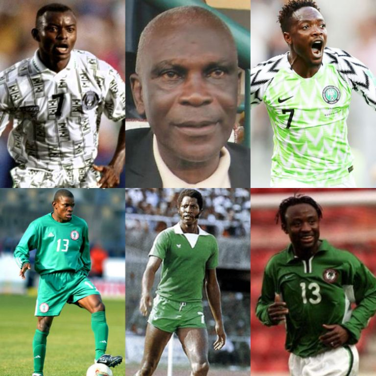 Nigeria's Greatest Number 7 Since 1960!